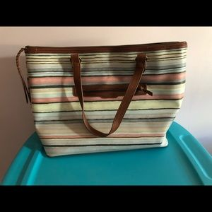Xtralarge Faux Leather Hand bag
